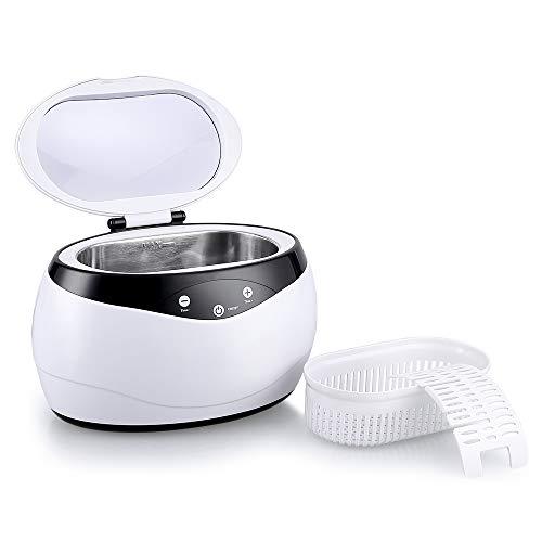 himaly 650ML Ultraschallreiniger Reinigungsgerät Ultraschallreinigungsgerät Reiniger Reinigungswerkzeug Reinigung von Schmuck Uhren Brillen Zahnersatz